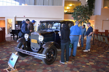 Larry Wheaton's Car Draws Crowds